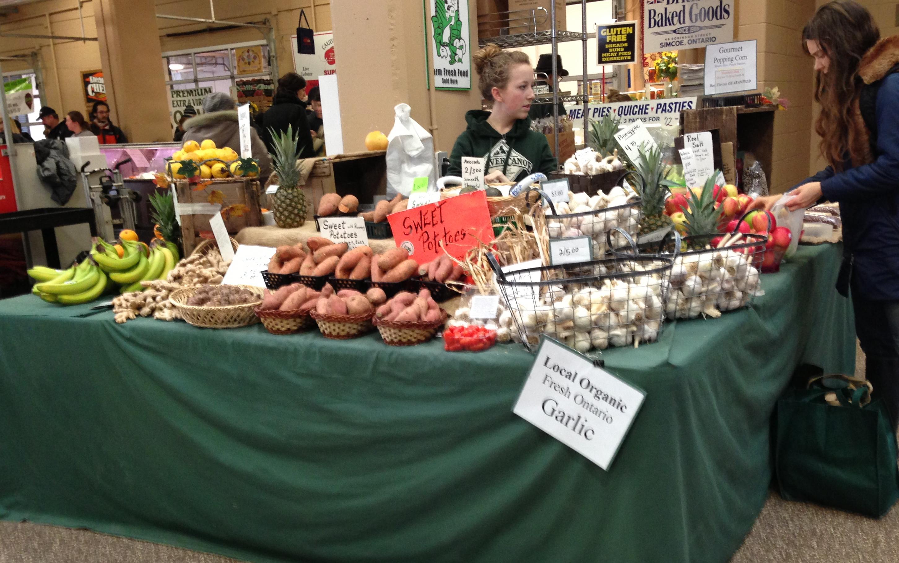 Visit to the Kitchener Market
