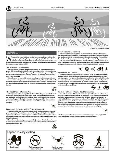 Bike Waterloo region the best way