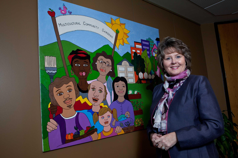 Mayor Brenda Halloran will not run for re-election in 2014