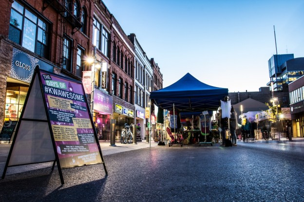 Downtown Kitchener's Art Markets have become a second home for many local and independent artisans hoping to make a name for themselves • MATT SMITH CCE CONTRIBUTOR