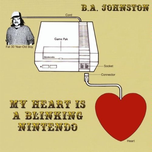 Album review: B.A. Johnson – My Heart is a Blinking Nintendo (re-release)