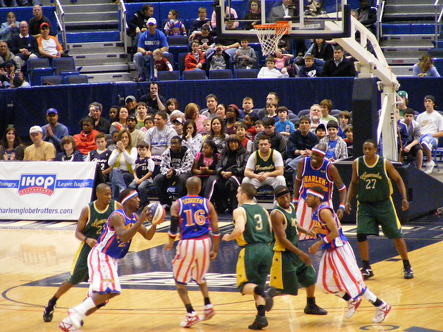 The nostalgia of the Globetrotters