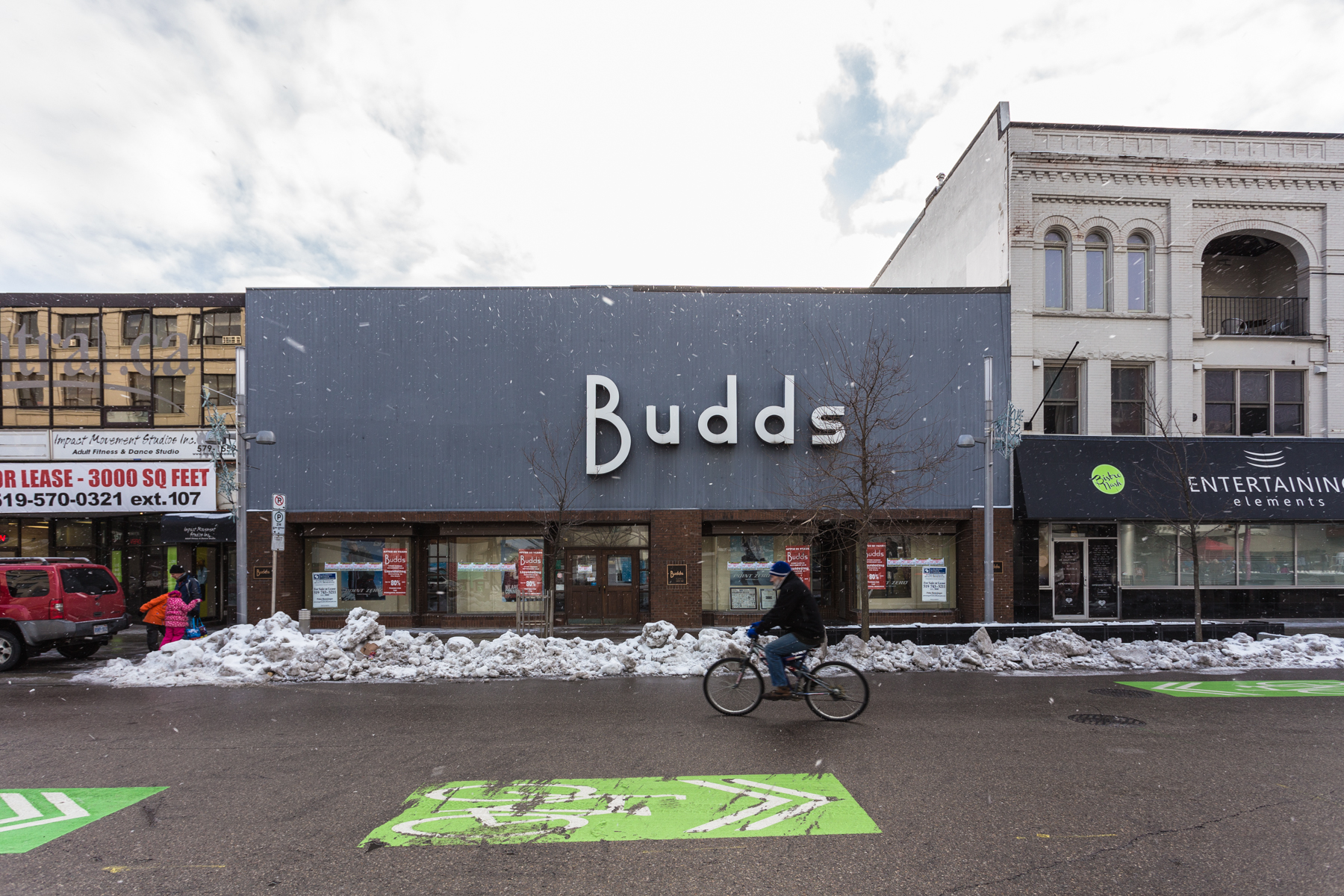 While Parts of Downtown Kitchener Bloom, Budds Closes