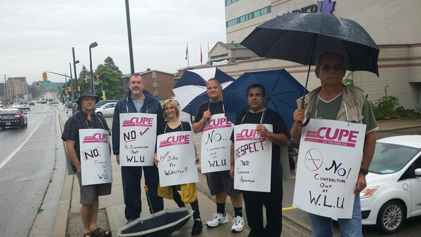 Union Fights WLU Sub-Contracting