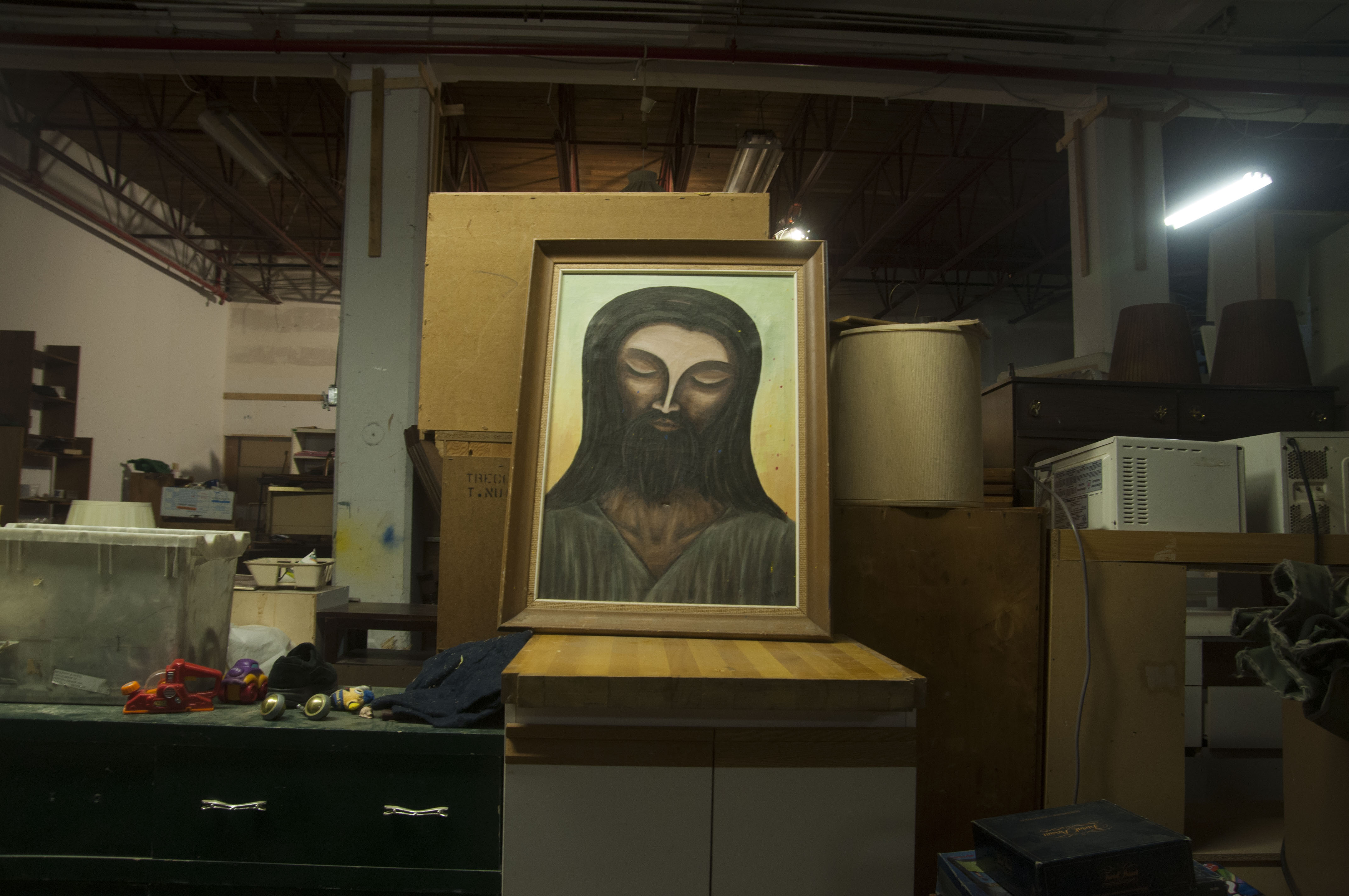 Wilson sells art, too.