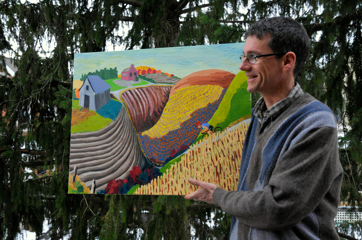 Terry Walters, and his regionally inspired art.