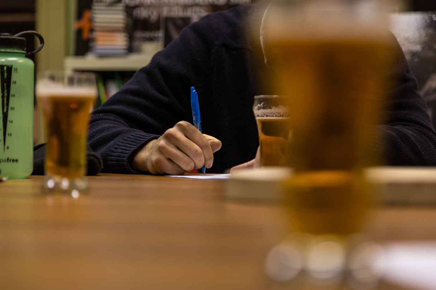 """I don't care what other people think about beer"" and Other Things Said at a Beer Tasting"