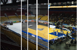 Players Gotta Play: Inside the Aud's Overnight Transformation
