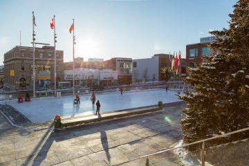 Carl Zehr Square Revamp Is Underway